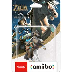 Cloud and BotW amiibo back up on Nintendo store - £12.99 each (£14.98 delivered / free over £20)