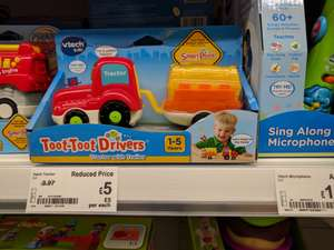 Toot Toot Drivers Tractor £5 @ Asda - Birchwood