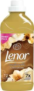 Lenor Fabric Conditioner Gold Orchid (1.82L = 72 Washes was £4.00 now £3.00 (Rollback Deal) @ Asda