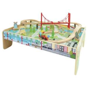 Carousel Train Table Set BACK IN STOCK for £21.99 @ tesco.com