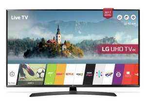 LG 49UJ635V 49 Inch Smart 4K Ultra HD TV with HDR £470.60 @ Argos!