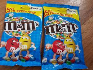 M&m s crispy 2 bags for £1.00 heron foods Ashton-under-Lyne