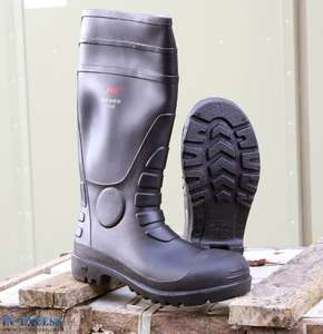 Steel Toe Cap Safety Wellington Wellies - £6.95 @ In Excess