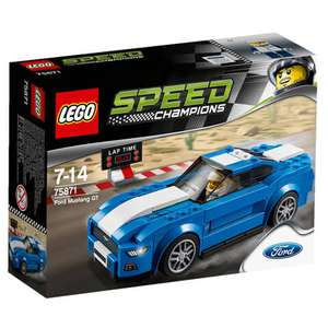 LEGO Speed Champions Ford Mustang Gt 75871  £10 @ Tesco Direct  (C&C)
