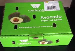 Ripen at Home Avocado Box 850g - 7+ Avocados in a box £2 @ Morrisons instore