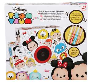 Tsum Tsum Create Your Own Velvet Art Speaker £3.99 @ Argos