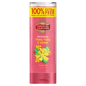 Imperial Leather Ylang Ylang Shower Gel (250ml + 100% Free) Only £1.00 @ Iceland