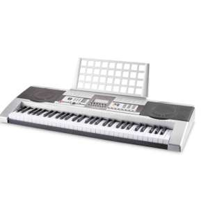 A Full-Sized Electronic Keyboard with an LCD display (Free delivery) £69.99 @ Aldi
