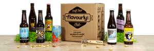 10 Craft Beers DELIVERED for just £15 @ Flavourly PLUS possible £6 cashback with Quidco