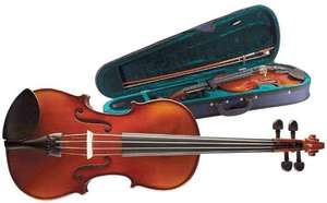 Stagg Solid Maple Violin with Soft Case £29.73 Amazon