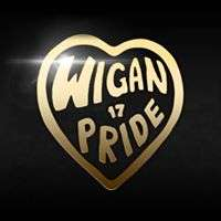 Wigan Pride Saturday 12th August 11am-7pm free fun family day, Ian McKellen! Parade, stalls, entertainment etc