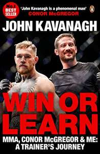 Win or Learn - MMA, Conor McGregor & Me Kindle ebook for 99p