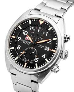 Swiss Military Hanowa quartz chronograph watch £62.68 @ Amazon