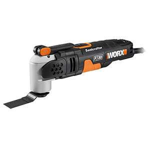 WORX WX680 F30 350W Sonicrafter Multi-Tool Oscillating Tool with 29 Accessories £54.09 Del @ Amazon