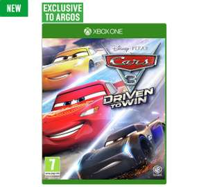 Disney Pixar Cars 3: Driven to Win Xbox One Game reduced to £34.99 @ Argos