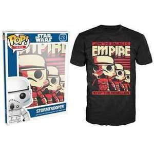 Funko Pop! Tees (Star Wars, Skeletor, Walter White, Lilo & Stitch) Collector Card + T-Shirt £6.99 Delivered @ Go2games