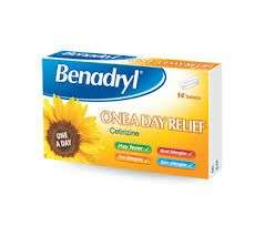 2 x benadryl cetirizine 14 tablets for £6.50 instore @ Tesco Express (Tower Hill)