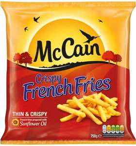 McCain Crispy French Fries (750g) was £1.50 now 2 packs for £2.00 @ Iceland