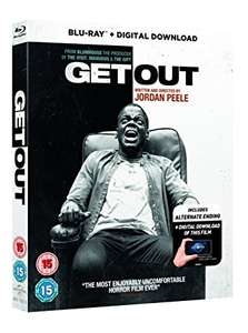 Get Out (2017) Blu-Ray + Digital Download £9.99 at Amazon (non-Prime £11.48)