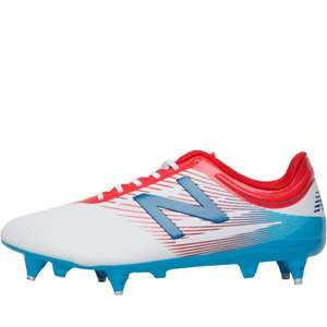 New Balance Mens Furon 2.0 Dispatch SG Football Boots White (sizes 7 -12.5) £14.99 + £4.49 Del @ M and M Direct (Red £16.99)