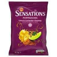 Sensation Poppadoms 82.5g - £1 at Sainsbury's
