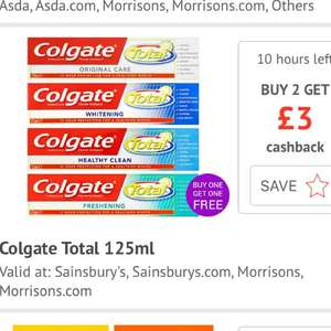 FREE Colgate toothpaste 2 x standard tubes (125ml) @ Checkoutsmart