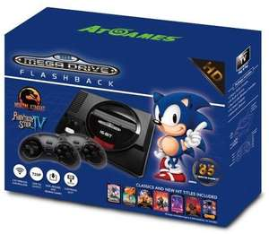 Sega Megadrive Flashback with 85 games. More than £10 off RRP. £69.85 @ Simply games