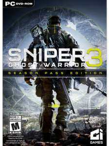 Sniper Ghost Warrior 3 + Season Pass (steam) £9.99 @ cdkeys