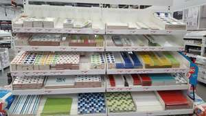 wall tiles 30p some reduced from £10 insore @ B&Q Grimsby
