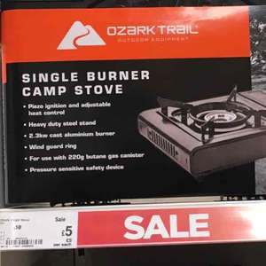 Camping stove £5 was £10 Asda in store