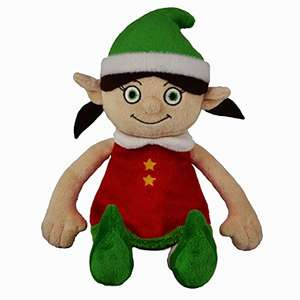 USUALLY SELLS FOR £25!! Elf Adventures Girl Elf Soft Toy Gift Set - Activity Book, Reward Chart, Letter from Santa for Elf on the Shelf £5.99 @ Amazon
