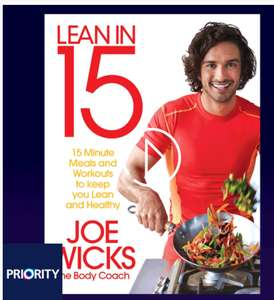 Download Lean in 15 - The Shift Plan by Joe Wicks FREE ON O2 PRIORITY, usually £7.19