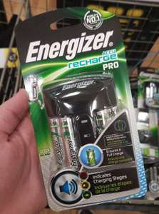 4x AA Energizer Rechargable Batteries with plug £2.20 Asda Home Lakeside - Thurrock