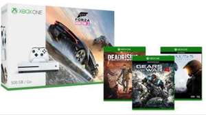 Xbox One S 500gb - Halo 5, Gears of War 4 & Dead Rising 4 Microsoft Store £229.99