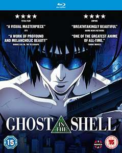 Ghost in the Shell anime movie bluray - £4.99 Amazon (Prime) £6.98 non prime