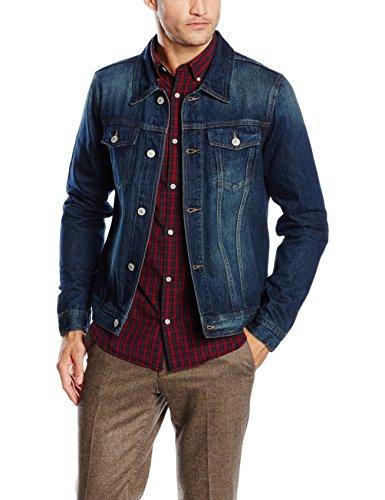 James Tyler Men's Denim Jacket - RRP £34.95 - £12 @ Amazon