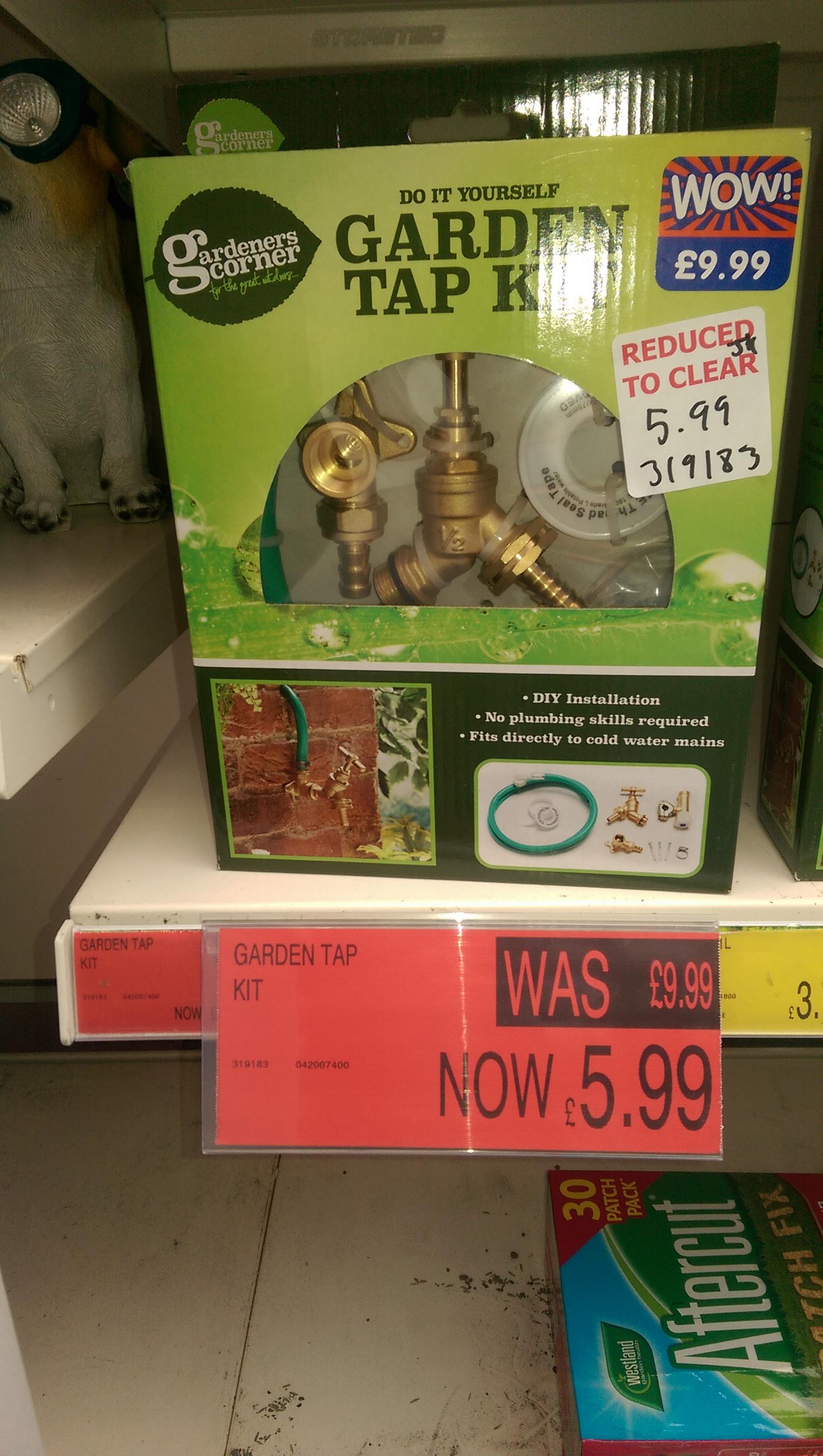 Garden tap Kit -  B&M  - £5.99