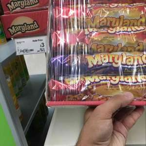 pack of 5 Maryland cookies £3 - Asda Smithdown Rd Liverpool