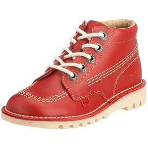 Kickers Boots Red Size 1 and 2.5 only on Amazon for £18.97/19.37 (Prime or find add-on for £1.03/non-Prime £2.99)