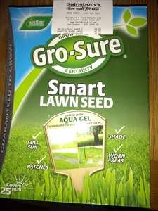 Westland Gro-Sure Smart Grass Seed - 1kg instore at Sainsbury's for £4 (Mere Green)