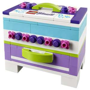 LEGO Friends Storage Box 40266 plus get LEGO Noughts and Crosses @ LEGO Store Leicester Square for £2.99