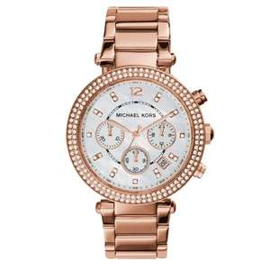 Michael Kors Ladies' Parker Chronograph Watch MK5491 at JB Watches for £99.99