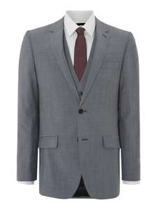 90% Wool, 10% Mohair Kenneth Cole Suit £67!  House of Fraser.
