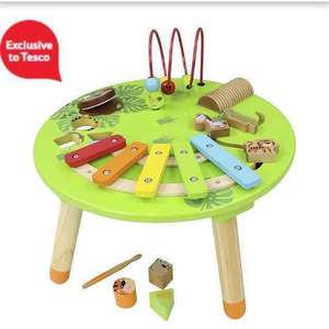 carousel wooden musical activity table reduced from £35 to £12.50 @ Tesco direct BACK IN STOCK 12/08
