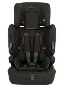 Graco Endure High Back Booster Car Seat with harness, Group 1-2-3, Black £45 Tesco