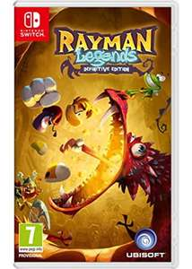 Rayman Legends: Definitive Edition (Pre-order) - Nintendo Switch (£24.95 - Base)