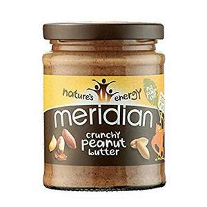 Meridian Natural Crunchy Peanut Butter 280 g (Pack of 6) @ Amazon £5.71 (add-on item)