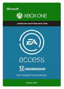 EA Access 12 months - £16.99 via CD Keys (£16.14 with 5% FB discount code?)