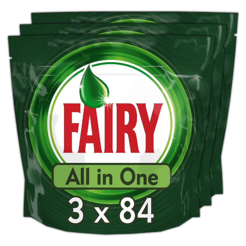 Fairy Original All-in-One Dishwasher Tablets (252) £18.00 (Prime) / £22.75 (non Prime) @ Amazon (£17.10 S&S)