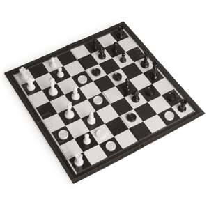 Wilko Chess and Draughts Set £2 in Castleford half price